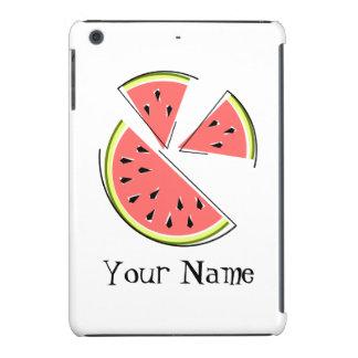 Watermelon Pieces 'Name' iPad Mini case