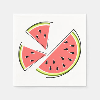 Watermelon Pieces napkins paper Paper Napkin