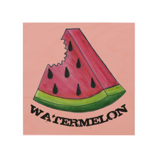 Watermelon Pink Melon Slice Fruit Kitchen Decor