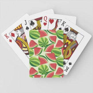 Watermelon Poker Deck