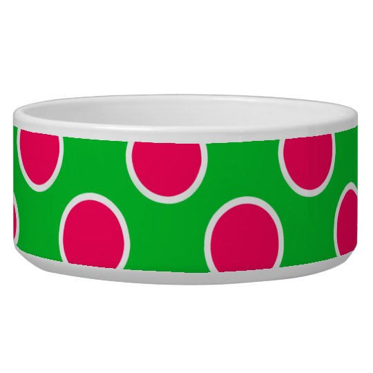 Watermelon Polka Dots