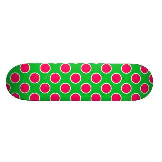 Watermelon Polka Dots Skateboard