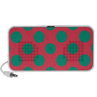 Watermelon Polkadot Notebook Speakers