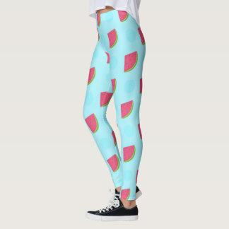 Watermelon Print Leggings