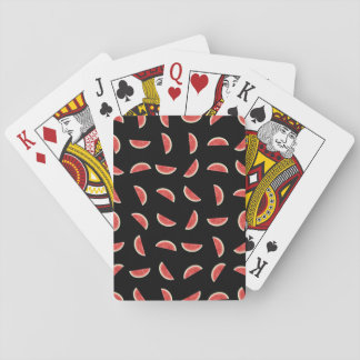 Watermelon Print Playing Cards