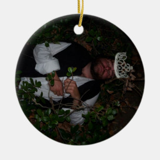 watermelon Queen Christmas Ornament