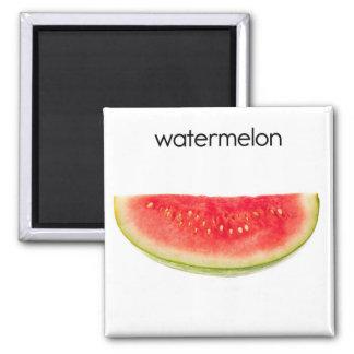 Watermelon Refrigerator Magnet