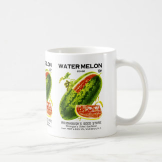 Watermelon Seed Packet Label Coffee Mug