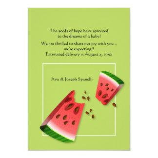 Watermelon Seeds Pregnancy Announcement