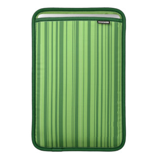 Watermelon Skin Vertical Stripes Green MacBook Sleeves
