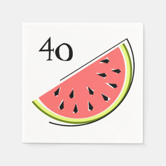 Watermelon Slice Age napkins paper Paper Serviettes