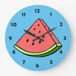 Watermelon Slice Clock