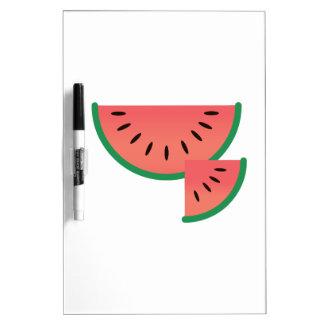 Watermelon Slice Dry Erase Board
