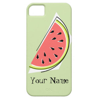 Watermelon Slice green 'Name' iPhone 5 case