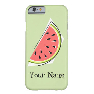 Watermelon Slice green 'Name' iPhone 6 case