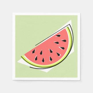 Watermelon Slice Green napkins paper Paper Napkins