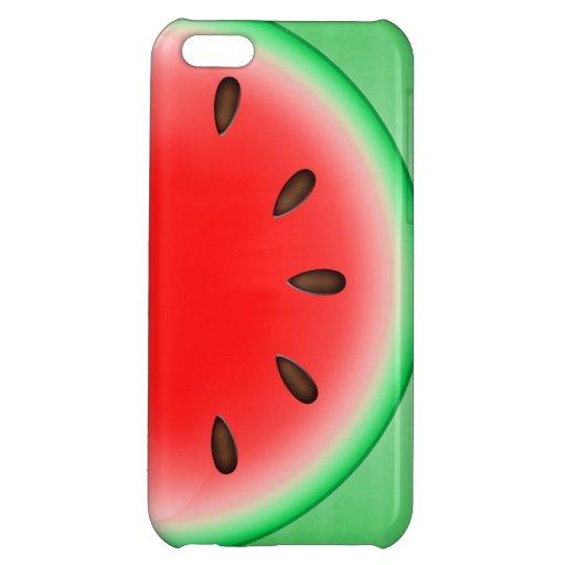 Watermelon Slice iPhone 5C Covers