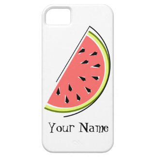 Watermelon Slice 'Name' iPhone 5 case