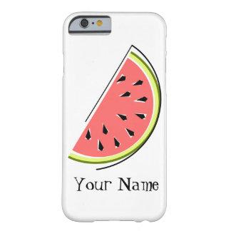 Watermelon Slice 'Name' iPhone 6 case