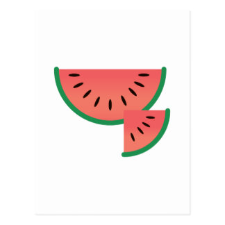 Watermelon Slice Postcards