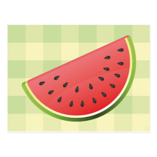 Watermelon Slice Post Card