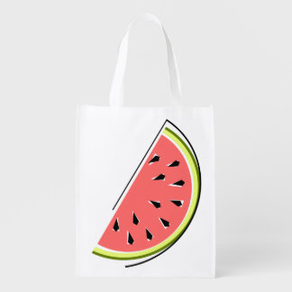 Watermelon Slice reusable bag