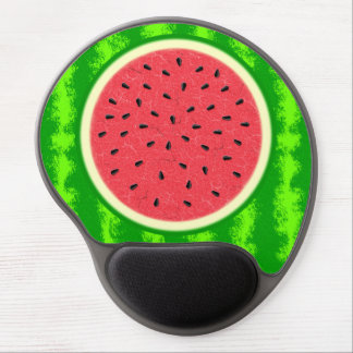 Watermelon Slice Summer Fruit with Rind Gel Mouse Mat