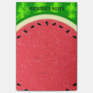 Watermelon Slice Summer Fruit with Rind Post-it Notes