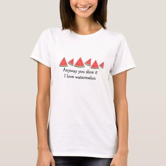 Watermelon Slices Design T-Shirt