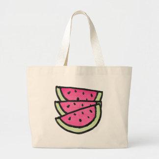 Watermelon Slices Jumbo Tote Bag