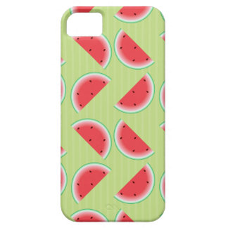 Watermelon Slices on Green Barely There iPhone 5 Case