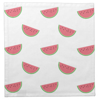 Watermelon Slices Pattern Cloth Napkins