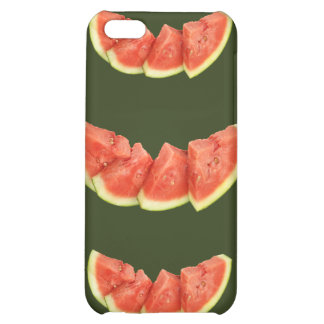 Watermelon Slices Rounded Triangles Case For iPhone 5C