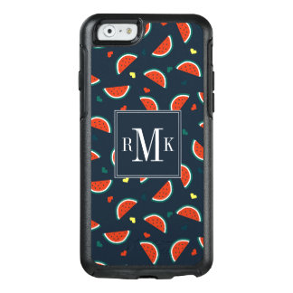 Watermelon Slices with Hearts Pattern OtterBox iPhone 6/6s Case