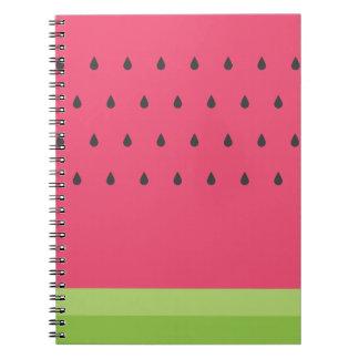 Watermelon Spiral Notebook