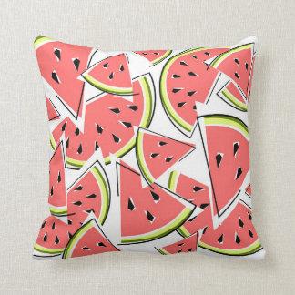 Watermelon square cushion