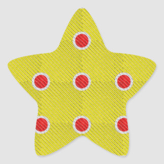 Watermelon Sticker Shapes Star Sticker