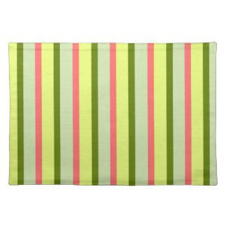 Watermelon Stripe Classic placemat cloth