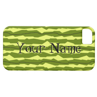 Watermelon Stripe 'Name' iPhone 5 case horizontal