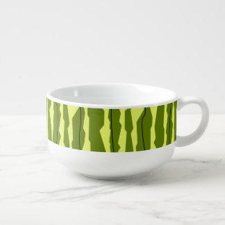 Watermelon Stripe soup mug