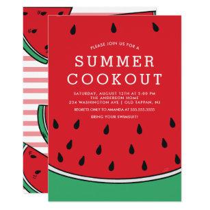 summer cookout invitations announcements zazzle uk