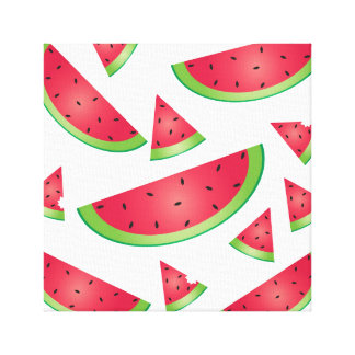 Watermelon Summer Fruit Wall Art Print