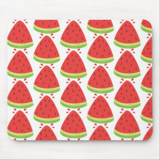 Watermelon summer mouse pad