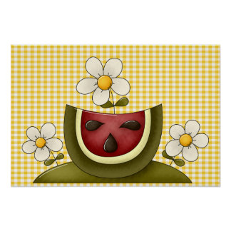 Watermelon Summer Print and Poster