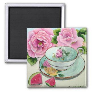 Watermelon & Tea Magnet