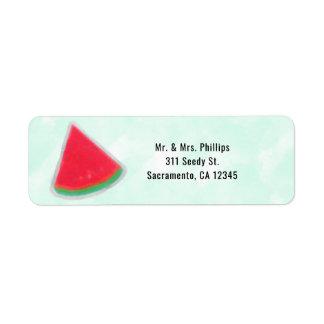 Watermelon Watercolor Birthday Party Invitation