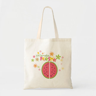 Watermelon Watermelon Fruit Sweet Health Fresh Canvas Bag