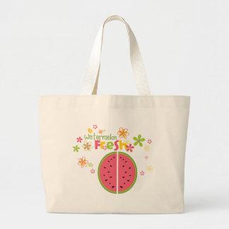 Watermelon Watermelon Fruit Sweet Health Fresh Jumbo Tote Bag