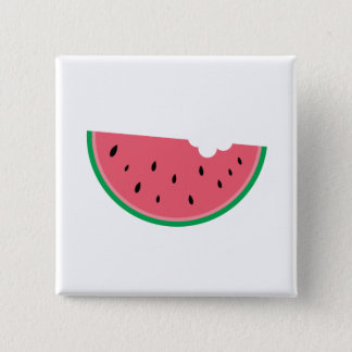 Watermelon Watermelons Fruit Sweet Health Fresh 15 Cm Square Badge