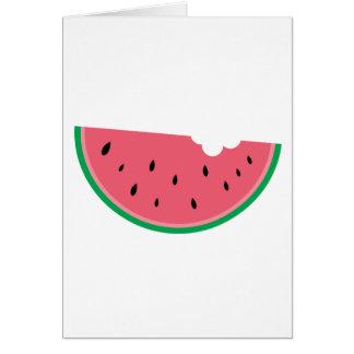 Watermelon Watermelons Fruit Sweet Health Fresh Card